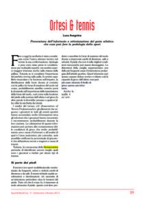 Sport & medicina – ortesi plantari e tennis